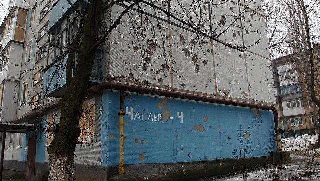 Три тысячи домов вДонецке остались без света после обстрела