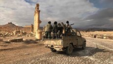 Военнослужащие Сирийской Арабской Республики. Архивное фото