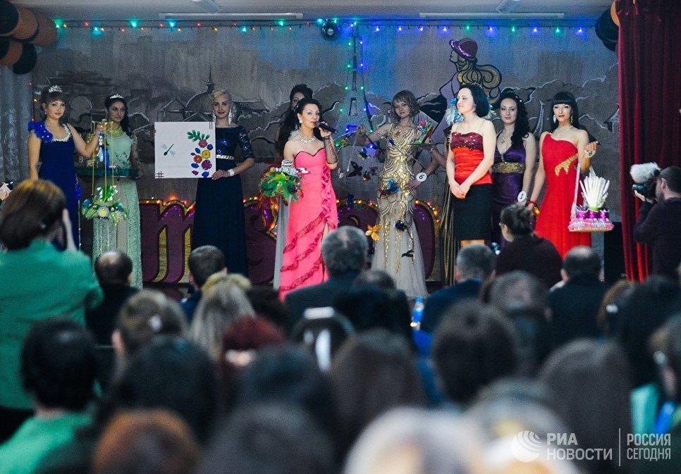 Конкурс красоты среди осужденных Мисс весна - 2017 в колонии общего режима для женщин ИК-10 УФСИН России по Приморскому краю
