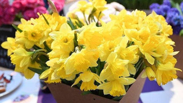 Цветы в любом третьем букете на8Марта будут российскими