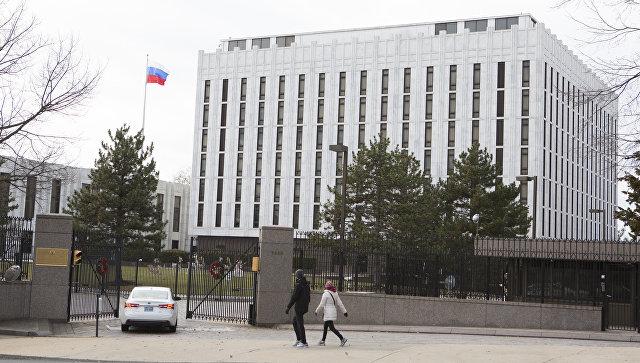 Здание посольства России в США, Вашингтон