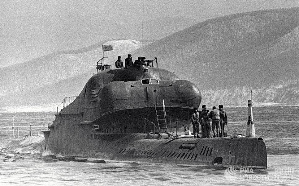 Подводная лодка Тихоокеанского флота