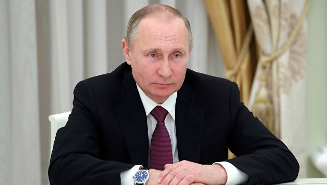 Песков: Путин провел оперативное совещание вСовбезеРФ