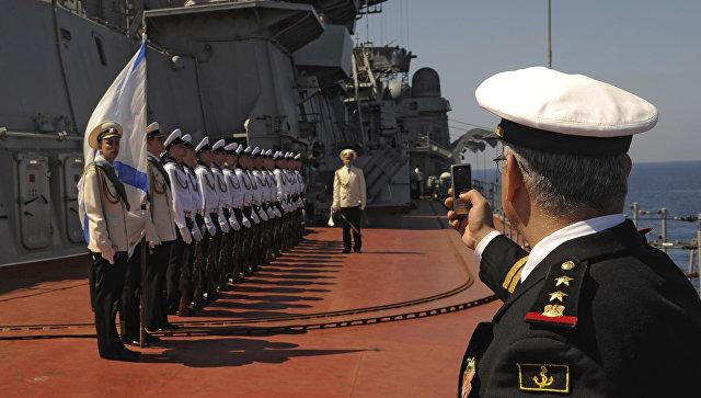 Российская Федерация начала модификацию базы ВМФ вТартусе