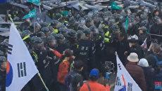 Беспорядки в Сеуле после отстранения от власти президента Южной Кореи
