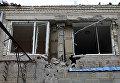 Последствия обстрела Нефтеперерабатывающего завода Докучаевска в Донецкой области
