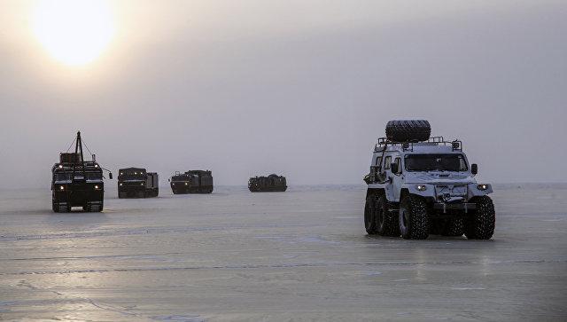 Испытания новых и перспективных образцов вооружения, военной и специальной техники в условиях Арктики