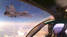 Летчики ЦВО отработали уход из-под удара в рамках внезапной проверки