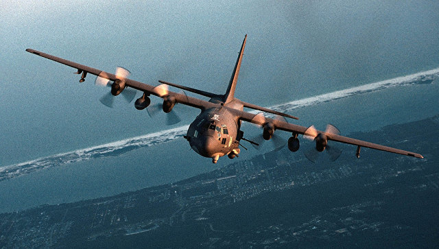 Cамолет AC-130 ВВС США. Архивное фото