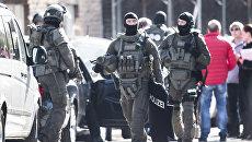 Сотрудники полиции у в Германии. Архивное фото
