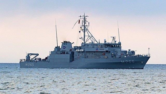 Важный визит: впорт Одессы вошли корабли постоянной военно-морской группы НАТО