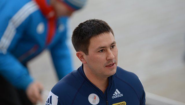 Житель россии  Александр Касьянов победил взачете четверок Кубка мира побобслею