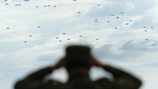 Учения войск Центрального военного округа. Архивное фото
