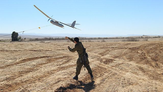 Израильские военные запускают разведывательный беспилотник Skylark. Архивное фото