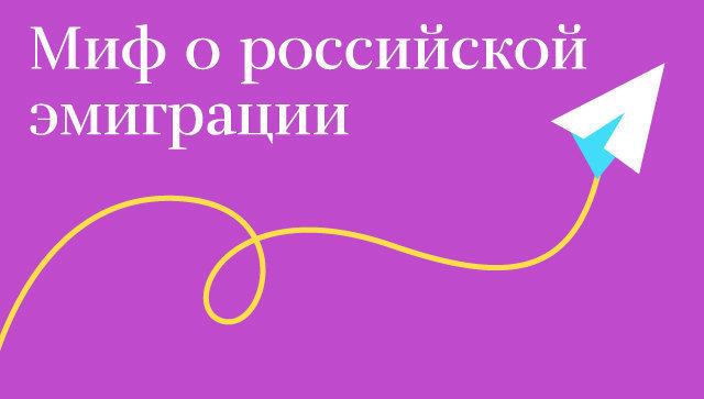 Миф о российской эмиграции