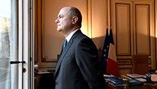 Глава МВД Франции Брюно Ле Ру. Архивное фото