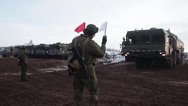 Расчеты «Искандер-М» уничтожили условный аэродром научении вОренбургской области