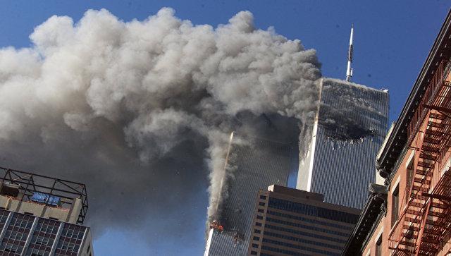 Теракт 11 сентября в Нью-Йорке. Архивное фото