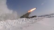Групповые удары из Урагана, Града и гаубиц – учение артиллерии под Оренбургом