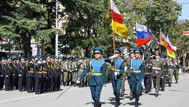 Подразделения армии Южной Осетии вошли всоставВС РФ