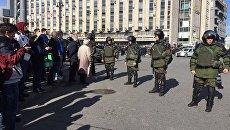 Акция 26 марта в Москве. Архивное фото