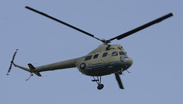 Вертолет МИ-2. Архивное фото