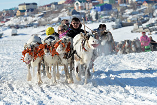 Международный форум коренных малочисленных народов Севера, Сибири и Дальнего Востока России прошел в конце марта на Ямале, в городе на Полярном круге – Салехарде