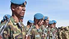 Военнослужащие во время таджикско-российских учений на полигоне Фахрабад в Таджикистане. Архивное фото