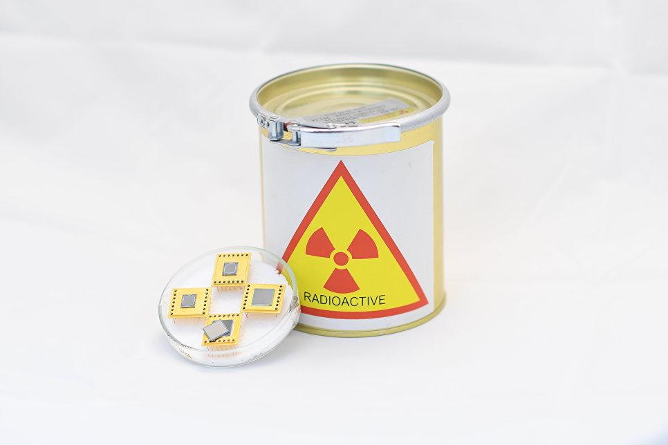 Бетавольтаический преобразователь («ядерная батарейка»)