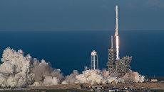Старт ракеты Falcon 9 со спутником SES–10 с космодрома на мысе Канаверал. Архивное фото