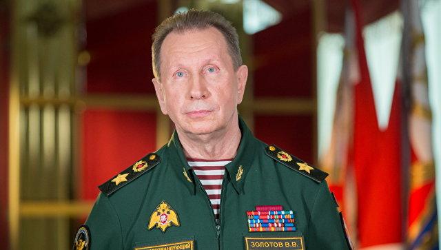Директор Росгвардии Виктор Золотов. Архивное фото