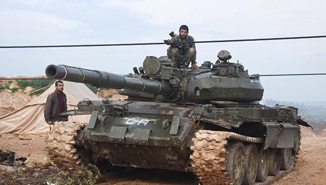 Сирийские военные заняли несколько больших населенных пунктов впровинции Хама