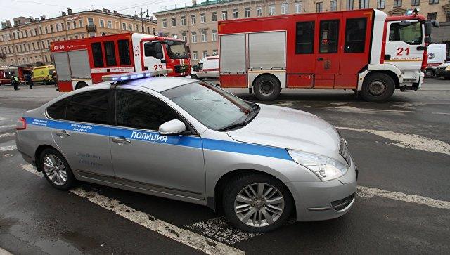 Ситуация у станции метро Технологический институт в Санкт-Петербурге, где произошел взрыв. Архивное фото