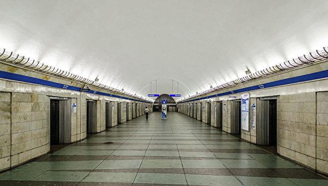 Петербургский метрополитен. Архивное фото