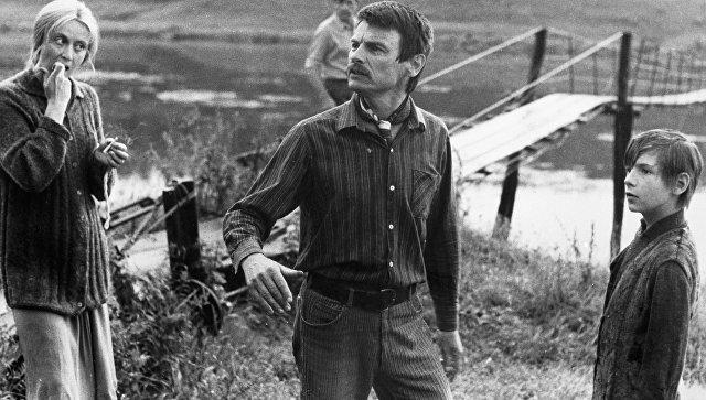 Тарковский на съемках фильма Зеркало