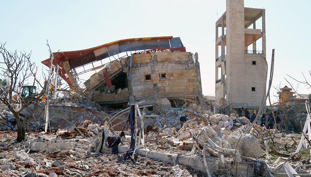США не могут подтвердить, что самолеты РФ нанесли удар по больнице в Сирии