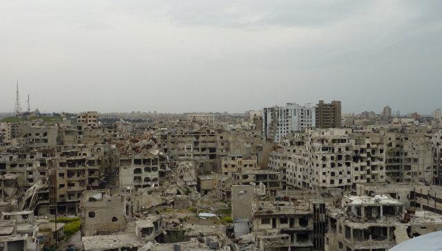 Город Хомс. Сирия. Архивное фото