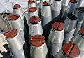Образцы снарядов с вероятным оснащением химическим зарядом
