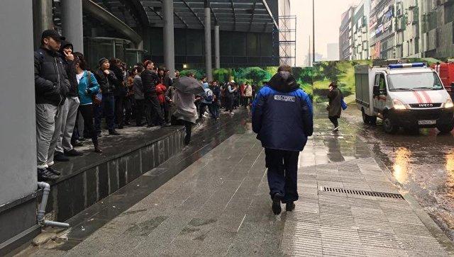 В столице эвакуировали гостей изТЦ «Афимолл»