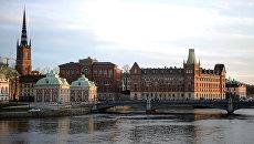 Вид Стокгольма. Архивное фото