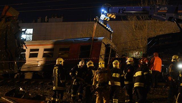 Отказали тормоза. СКназвал причину столкновения поездов в столице