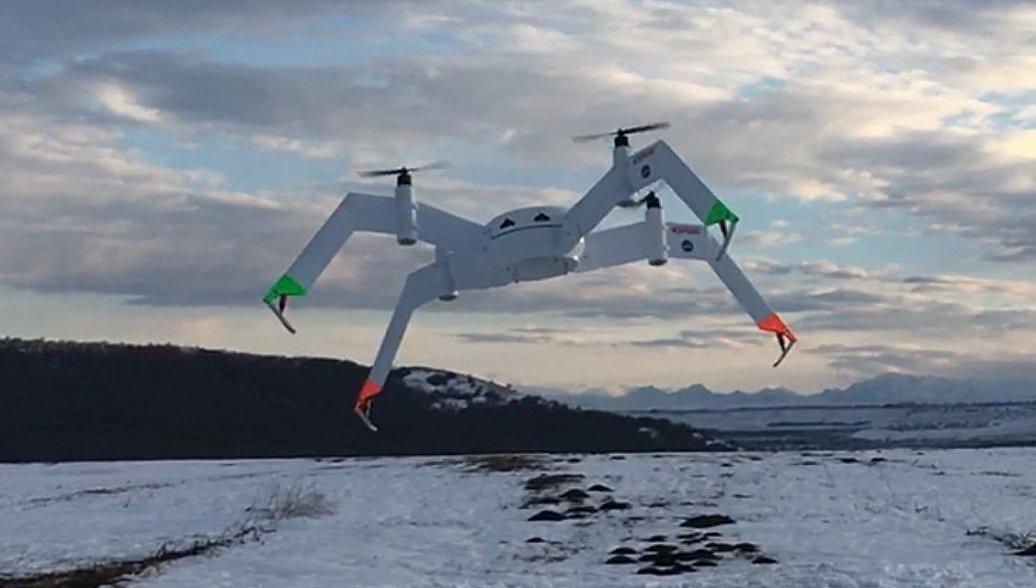 ВРФ прошли успешные тестирования дрона для спасения людей
