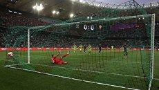 Матч чемпионата России по футболу между командами Краснодар и ЦСКА. Архивное фото