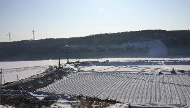 Нижнее-Бурейская ГЭС. Архивное фото