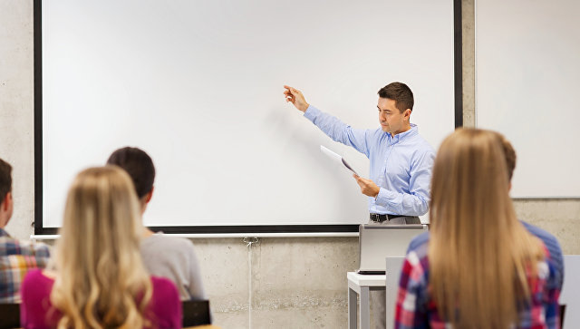 Лекция в университете