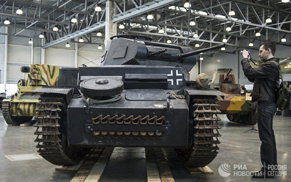 Немецкий легкий танк времен Второй мировой войны PzKpfw II