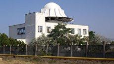 Купол АЗТ-28(Большая сажень). Отдельный командно-измерительный комплекс (ОКИК) главного испытательного космического центра имени Г.С. Титова космических войск Воздушно-космических сил (ВКС) России в Евпатории