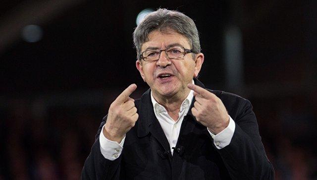 Кандидат в президенты Франции, лидер движения Непокорная Франция Жан-Люк Меланшон. Архивное фото