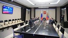 Совещание с постоянными членами Совета безопасности РФ. Архивное фото