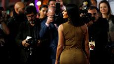 Ким Кардашьян на премьере фильма Обещание в Лос-Анджелесе